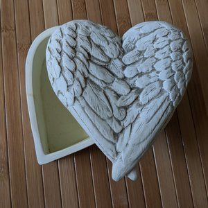 Angel Wing Trinket Box